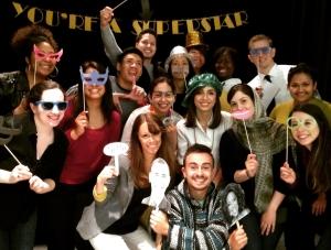 Jennifer Cohen surrounded by USG Student Ambassadors