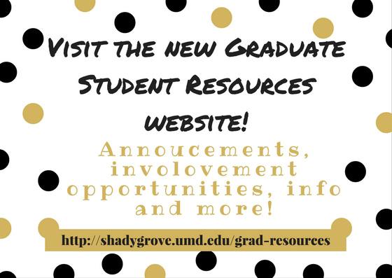 grad resources flyer
