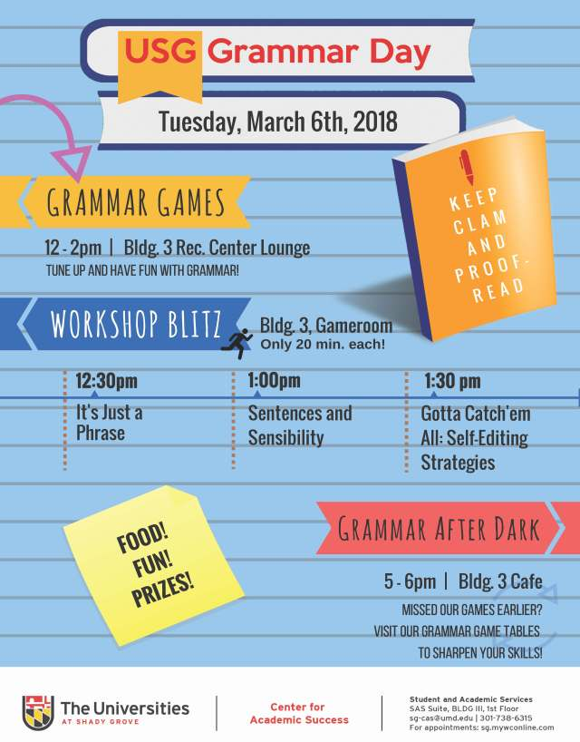 Grammar Day 2018 Full Poster