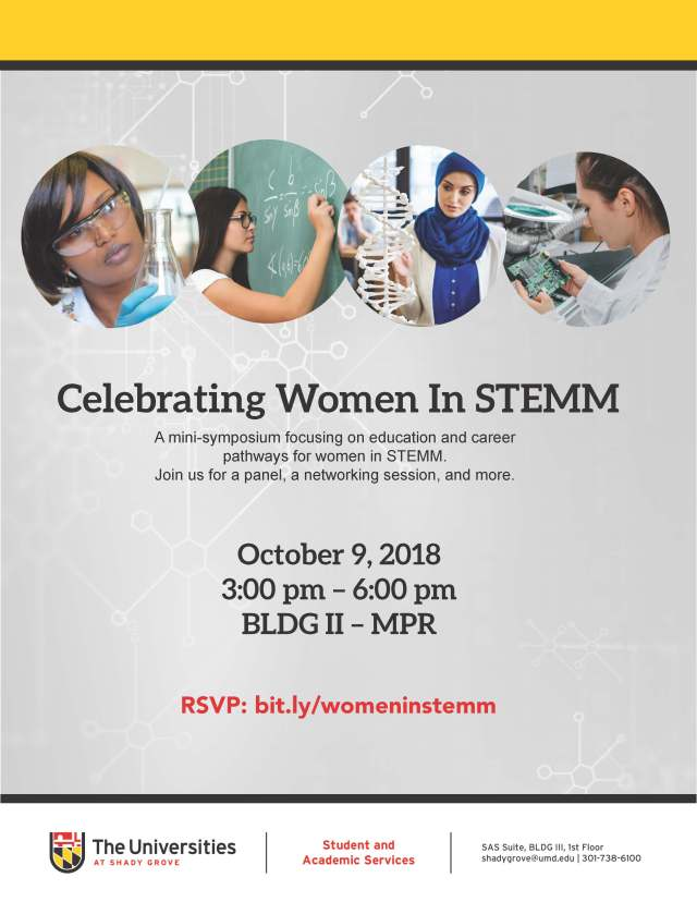 Women In Stem Event Flyer-1