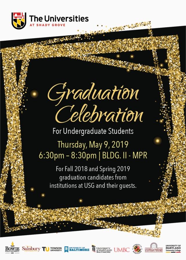 Grad Celebration flyer