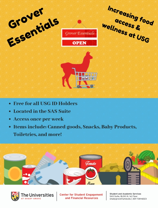 Grover Essentials flyer